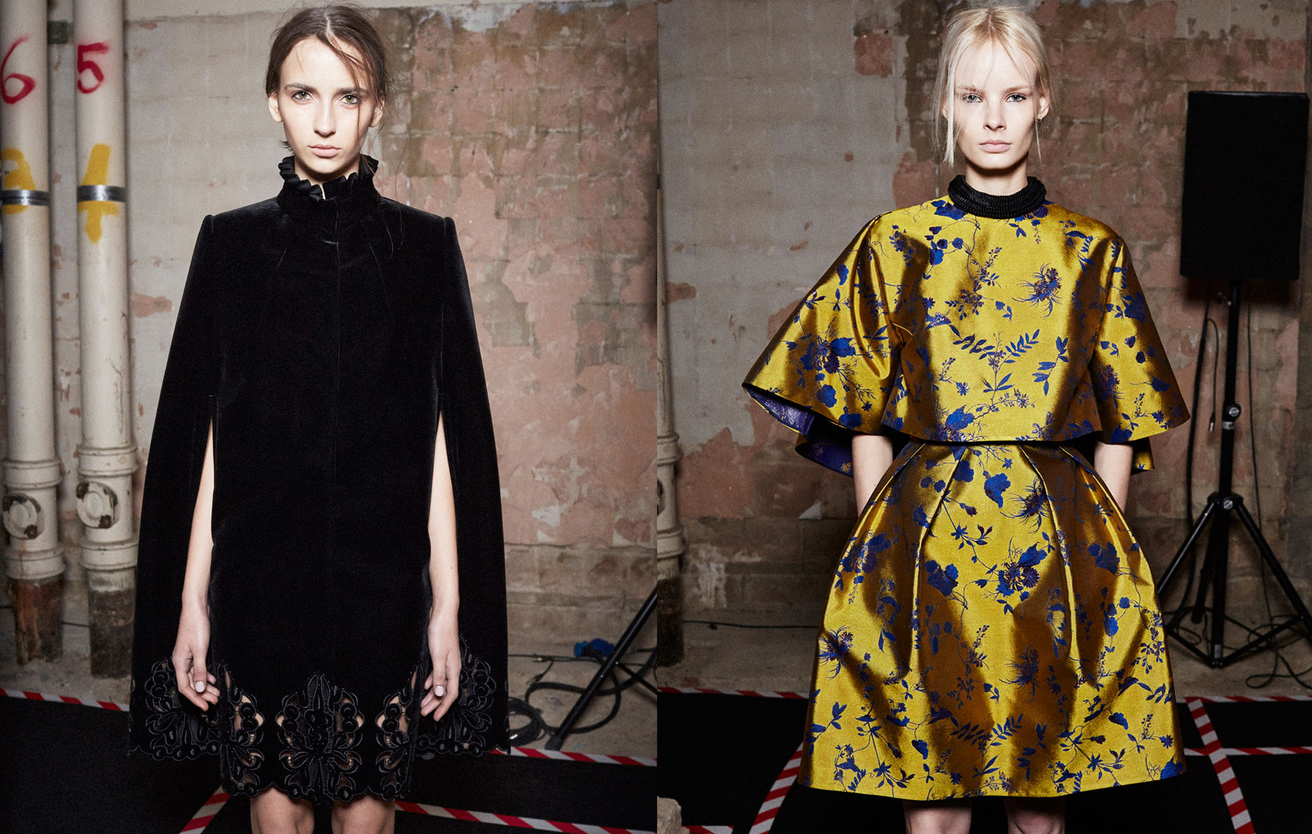 LFW_AW14_Erdem_backsatge_fashion and beauty_by_Jamie Baker_make up_Val Garland_hair_Anthony Turner